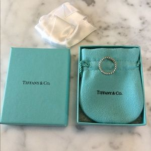 Tiffany & Co. Twisted Rope Ring Sterling Silver
